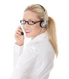 Young business woman Royalty Free Stock Image