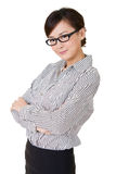Young business woman Stock Photography