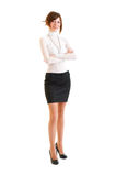 Young business woman. Stock Images