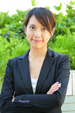 Young business woman Stock Photo