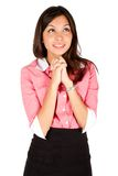 Young business woman Royalty Free Stock Photos