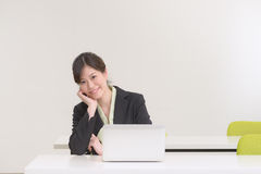 Young Business woman Royalty Free Stock Photo