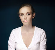 Young business woman attractive Royalty Free Stock Image