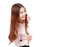 Young Business Woman Happy Smile Royalty Free Stock Photography