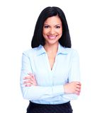 Young business woman. Royalty Free Stock Images