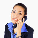 Young  Business woman on the phone Stock Photo