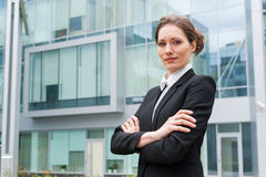 Young business woman portrait Royalty Free Stock Image