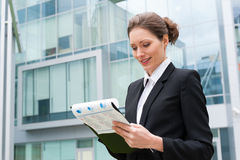 Young business woman portrait Stock Photography