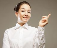 Young business woman Royalty Free Stock Photography