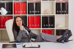 Young business woman. Stock Image