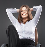 Young business woman [ student ] Stock Photo