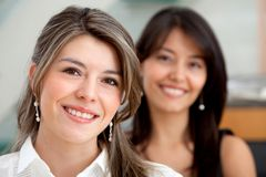 Young business women Stock Image