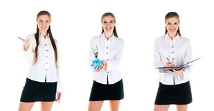 Young business women Royalty Free Stock Photos