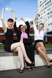 Young business women Stock Photography