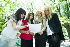 Young Business Women  Stock Photos
