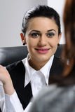 Young business women working Royalty Free Stock Photography