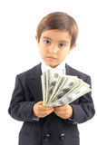 Young businessboy Stock Images