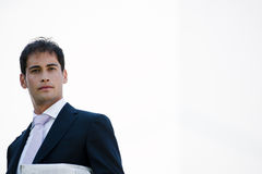 Young Businessman. Portrait of a young businessman, lots of copy-space Stock Photography