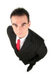Young Businessman. High angle view Stock Photos