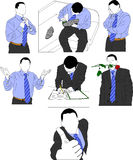 Young businessman stock illustration