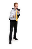 The young businessman Stock Photography