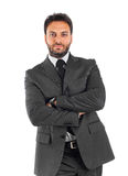 Young businessman with arms crossed Royalty Free Stock Image