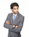 Young businessman with arms crossed Royalty Free Stock Images