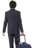 Young businessman on a business trip Stock Image