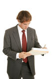 Young Businessman Concentration Royalty Free Stock Photo