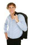 Young Businessman - confident Royalty Free Stock Photography