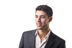 Young businessman confidently posing  Royalty Free Stock Photography