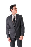 Young businessman confidently posing isolated on Royalty Free Stock Photo