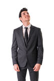 Young businessman confidently posing isolated on Royalty Free Stock Images
