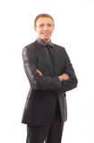 A young businessman in formal clothes Stock Photography