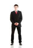 Young businessman in formal clothes Royalty Free Stock Images