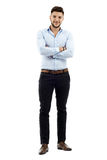 Young businessman, full length Stock Photos
