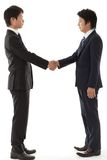 Young businessman handshake Royalty Free Stock Photography