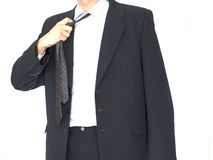 Young businessman has a break Royalty Free Stock Image