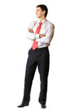 Young businessman, isolated Stock Photo