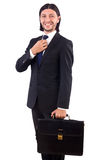 Young businessman isolated Stock Images