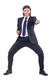 Young businessman isolated Royalty Free Stock Photo