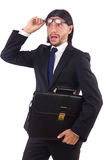 Young businessman isolated Royalty Free Stock Image