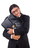 Young businessman isolated Royalty Free Stock Photography