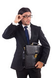 Young businessman isolated Stock Photography
