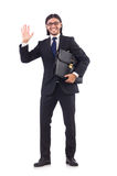 Young businessman isolated Stock Image