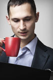 Young businessman man Stock Photo