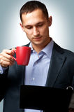 Young businessman man Royalty Free Stock Photo