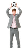 Young businessman manager Stock Photography