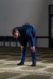Young Businessman Muslim Praying Stock Images