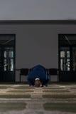 Young Businessman Muslim Praying Royalty Free Stock Images